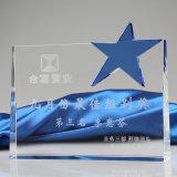 Troféu Star-Shaped do cristal para presentes