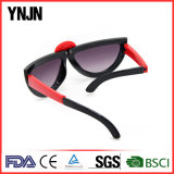 A forma Foldable dos desenhos animados quentes da venda caçoa os óculos de sol (YJ-K241)
