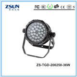 Luz de inundación del LED con 2~3 años de MAZORCA IP65 de la garantía