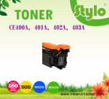 Cartucho de impressora a laser Ce400A / 401A / 402A / 403A / 403A para HP Laserjet