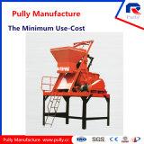 Misturador concreto de venda quente do Gêmeo-Eixo da fonte da fábrica da manufatura da polia (JS1500)