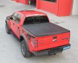熱い販売のD最大Isuzuのトラックのための柔らかい三重トノーカバー