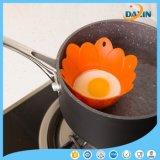 Tournesol de qualité alimentaire de la forme d'oeufs de silicone pratique cuiseur vapeur
