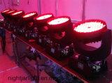 luz principal móvil de la colada de 4in1 LED 36PCS 10W