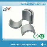 Постоянный N35 металлокерамические C Форма неодимовый магнит дуги