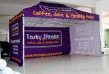 折るイベントのポップアップキャンバスのフルカラーの印刷のテントのおおいの玄関ひさし