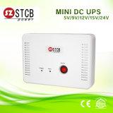 Mini UPS 12V/15V/24V da C.C. com ponto de entrada Modual para a câmera do IP