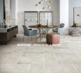 Todo el cuerpo gris cemento vitrificado de porcelana mate esmaltada azulejo rústico (MB69022) 600x600mm para pared y suelo