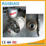 El Gusano de maquinaria de construcción velocidades con el eje de salida del reductor de la grúa
