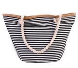 Signora Handbag Canvas di modo e sacchetto della spiaggia del sacchetto di cuoio dell'unità di elaborazione con i fiori (BDX-161059)