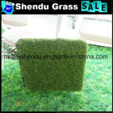 Grama artificial de China 25mm para o jardim e a paisagem