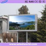El panel de visualización fijo a todo color al aire libre de LED del alto brillo P10 SMD3535 para hacer publicidad