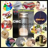 Productos químicos de cerámica del CMC de la celulosa carboximetil de sodio del grado para la decoración para la pulpa satinada
