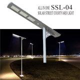 Antique High Lumen Sensor Solar Outdoor Lamp Street Pole Light LED de alta potência