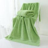 Выдвиженческие обыкновенные толком покрашенные ванна/сторона/полотенце Терри хлопка