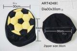 كرسي تثبيت تغطية كرة قدم يصمّم - أسود وصفراء