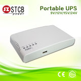 選択可能な9V/12V/15V/24V DCの出力との新しい小型UPS Mn4 17W