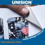 Rouleaux d'autocollants adhésifs autocollants imperméables à l'eau Foeco-Solvent et UV
