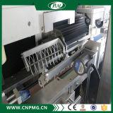 Máquina automática de etiquetado de manguitos con doble cabezal de etiquetado