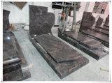 Французские отметки кладбища отметки Gravestone памятников гранита кладбища