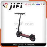 10pulgadas Neumático Scooter eléctrico con asiento