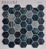 Mozaïek 48by48mm van het Glas van Hexigon