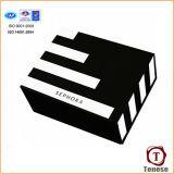 Шикарная конструированная коробка подарка бумаги искусствоа с Foiling логосом