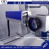 Машина маркировки лазера волокна 8 станций роторная для частей гравировки