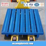 Palette métallique en acier robuste avec palette 2000kg capacité