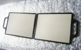 De gepersonaliseerde Spiegel van het Handvat van het Ontwerp Dubbele in de Winkel van Baeber