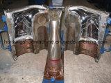 雨靴型のRianbootsの生産ライン