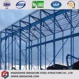 Vorfabrizierter Stahlkonstruktion-Herstellungs-Speicher verschüttete für industrielle Anwendung
