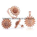 Joyería de moda joyería de acero joyería de oro rosa