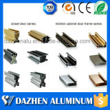 Perfil de alumínio personalizado da borda do gabinete de cozinha do fabricante do perfil