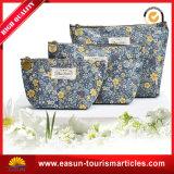 花のロゴデザイン、カスタマイズされた快適さ袋、航空快適さ袋