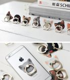 2017 Produto mais novo Cartoon Plastic + Metal Ring Mobile Phone Holder