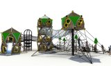 Outdoor Playground with Stainless Steel Slide