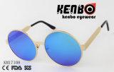 Круглая форменный рамка с широкими солнечными очками рукоятки Km17108 виска для способа
