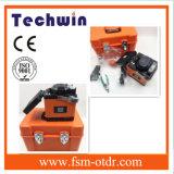 Machine de épissure de fibre optique de la colleuse Tcw-605/de fusion
