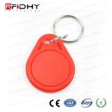 Para atendimento no tempo e controle de acesso Ntag213 ABS RFID Keyfob