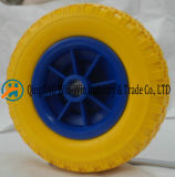 잔디 깍는 기계 바퀴 (250-4)를 위한 노란 PU 거품