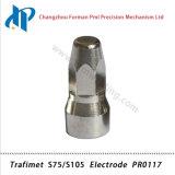 De Elektrode Pr0117 van de Uitrusting van de Verbruiksgoederen van de Scherpe Toorts van het Plasma van Trafimet S75/S105