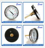 Temperatura del cuerpo de acero negro Termómetro-termómetro del agua -Bimetal Termómetro