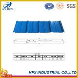 Mattonelle di tetto colorate strato d'acciaio galvanizzate del tetto per materiale da costruzione