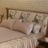 Het recentste Moderne Stevige Houten Meubilair van de Slaapkamer van het Bed (CH-602)