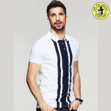 남자 t-셔츠 OEM 서비스를 위한 최신 디자인 형식 OEM 자수 폴로 셔츠