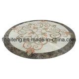Mattonelle di pavimento Waterjet di marmo del medaglione