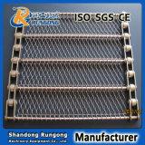 Bandes de conveyeur conventionnelles d'armure d'acier inoxydable