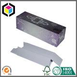 Rectángulo de papel del pequeño perfume mate de la cartulina acanalada con el sostenedor de la pieza inserta