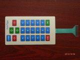 Membranschalter-Panel mit dem prägen/Silk Bildschirm gedruckt